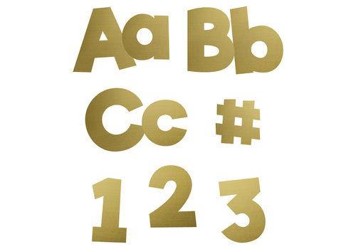 Carson Dellosa Gold Foil Combo Pack EZ Letters *