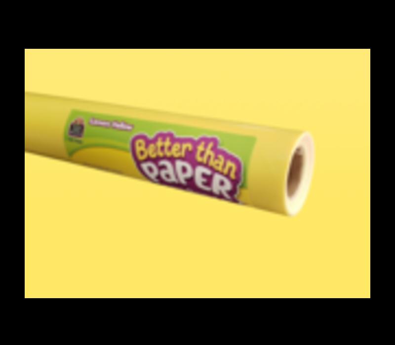 Better than Paper - Lemon Yellow Board Roll