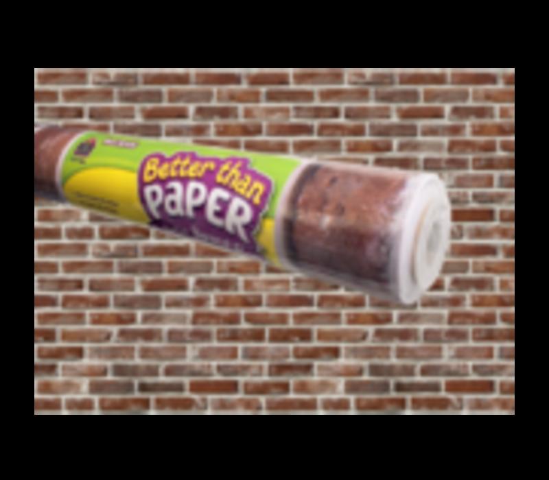 Better than Paper - Red Brick Bulletin Board Roll *