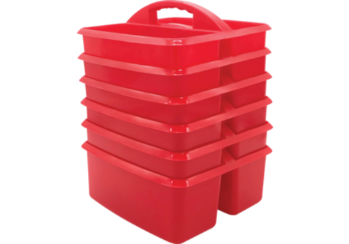 Teacher Created Resources UTILITY CADDY - RED