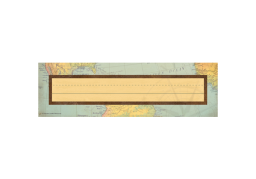 Teacher Created Resources Travel the Map Flat Nameplates