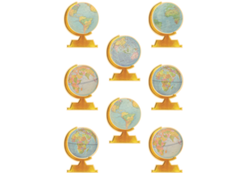"""Teacher Created Resources Travel the Globe Accents,  6"""""""