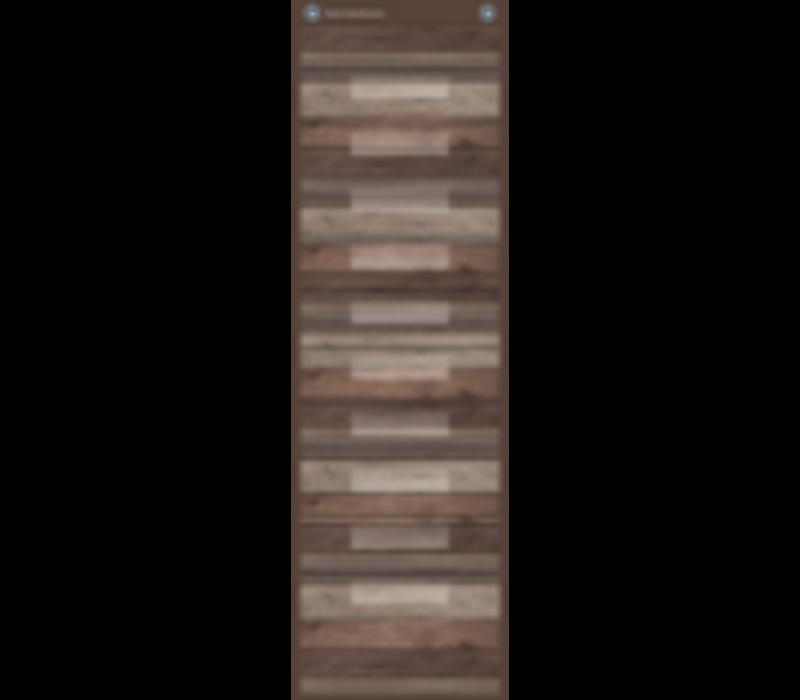 Dark Wood File Storage Pocket Chart