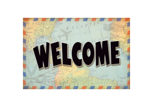Teacher Created Resources Travel the Map - Welcome Postcards*