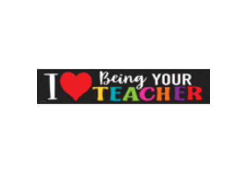 Teacher Created Resources I Love Being Your Teacher  Banner