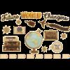 Teacher Created Resources Travel the World Future World Changers Bulletin Board Set