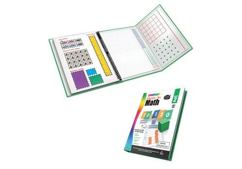 Carson Dellosa Spectrum Hands-On Math Workbook  Grade 2 *