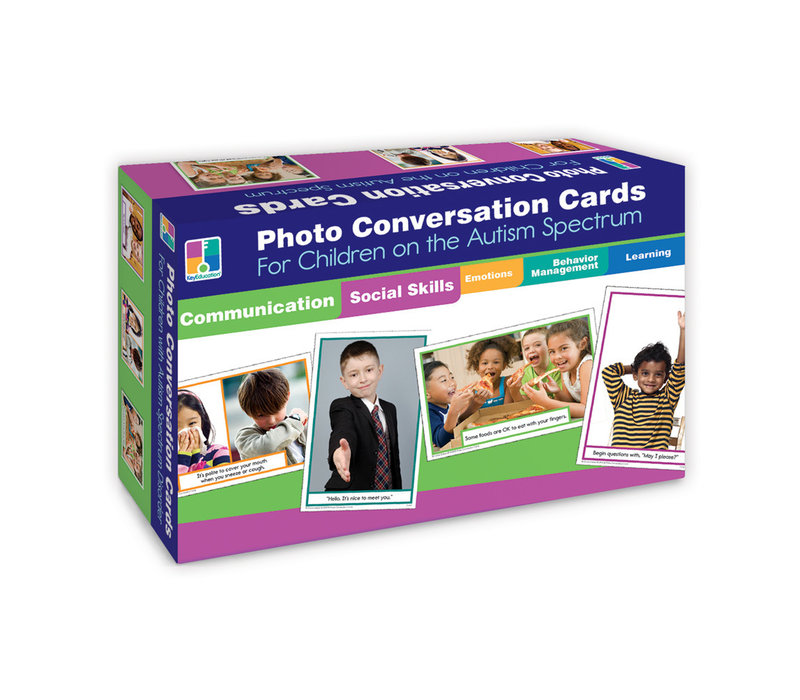 Photo Conversation Cards for Children with Autism and Asperger's*