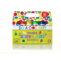 Do-A-Dot Juicy Fruit Scented Dot Markers 6-pack *