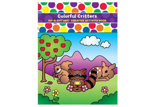 Do a Dot Do-A-Dot Play & Learn Colorful Critters Activity Book