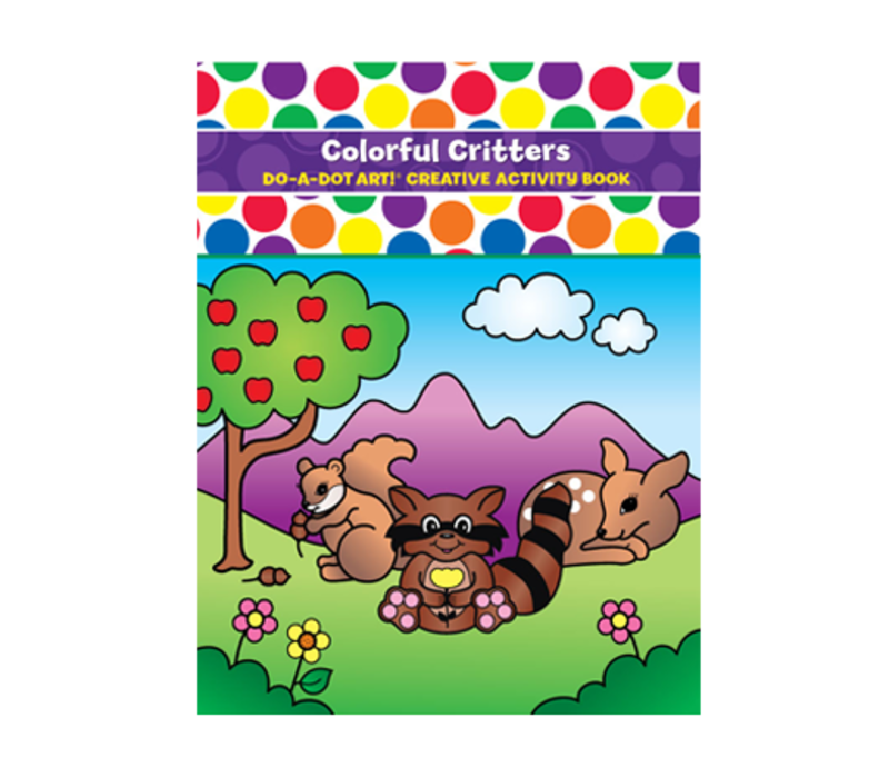 Do-A-Dot Play & Learn Colorful Critters Activity Book *