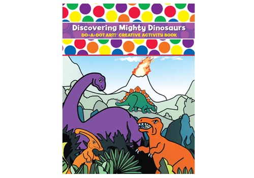 Do a Dot Do-A-Dot Discovering Mighty Dinosaurs Activity Book