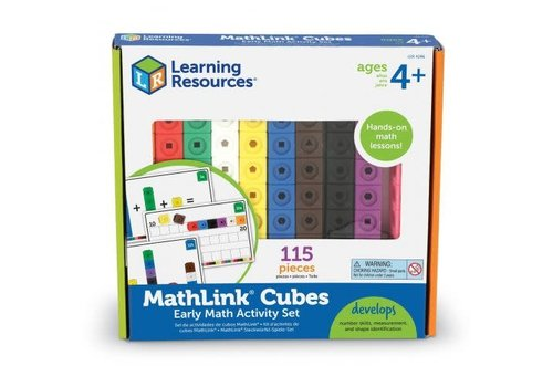 Learning Resources MathLink® Cubes Early Math Activity Set