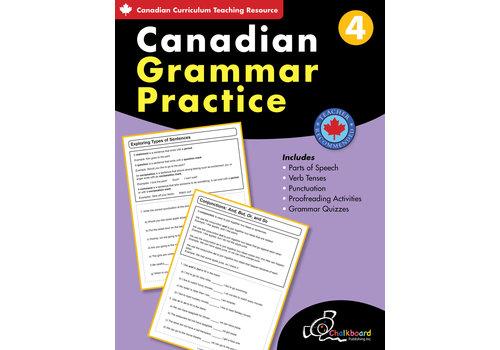 NELSON Canadian Grammar Practice Grade 4 *
