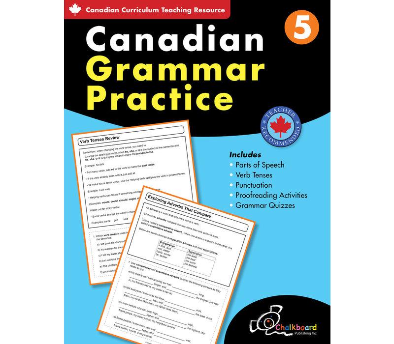Canadian Grammar Practice Grade 5