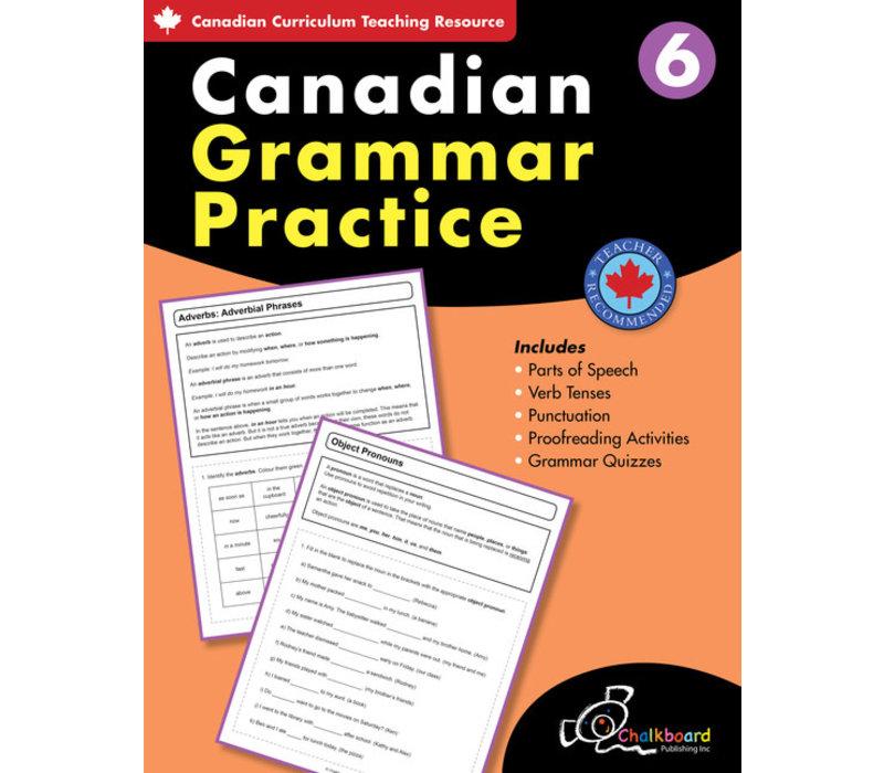 Canadian Grammar Practice Grade 6 *