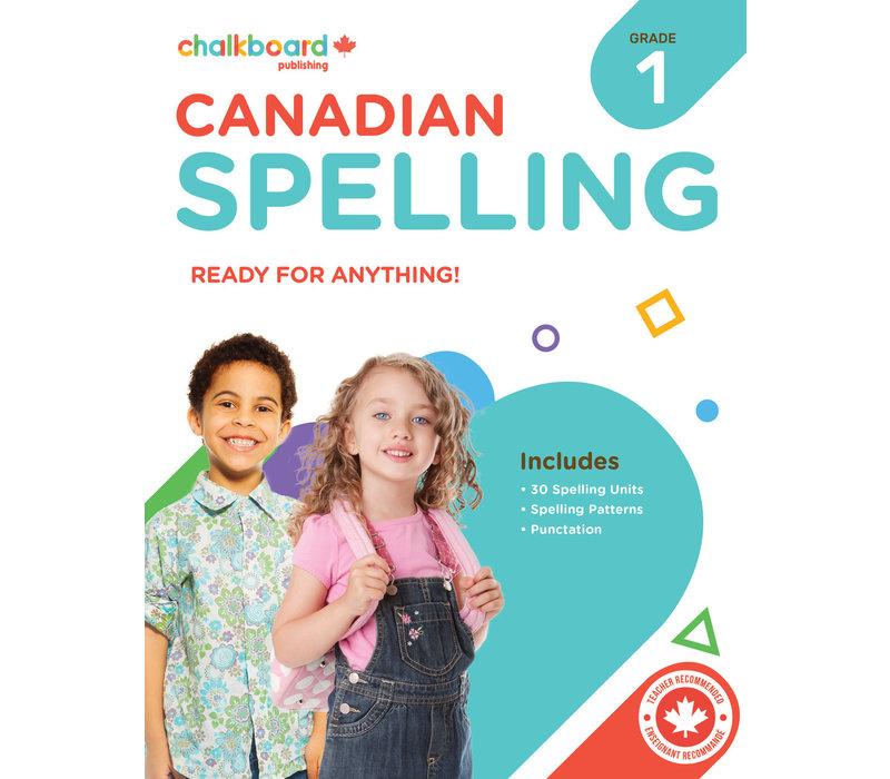 Canadian Spelling Grade 1 *