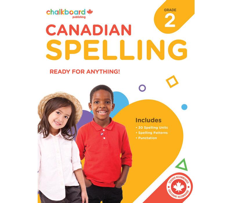 Canadian Spelling Grade 2 *