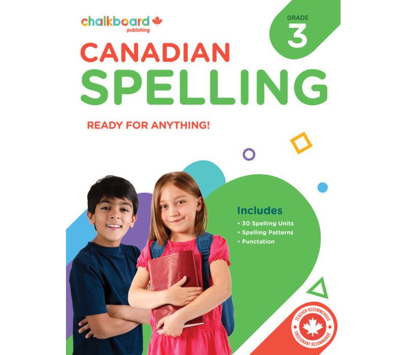 Canadian Spelling Grade 3 *