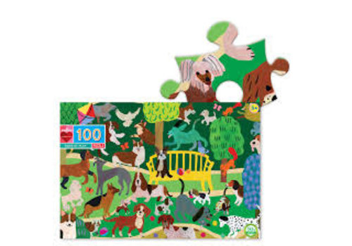 Eeboo Dogs At Play 100pc puzzle