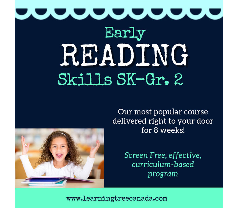 Early Reading Skills  - HOME DELIVERY PROGRAM