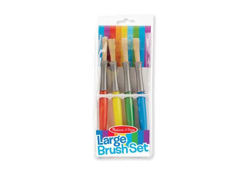 Melissa & Doug Large Paint Brush Set
