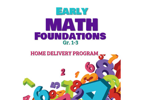 Early Math Foundations Part 1 -HOME DELIVERY PROGRAM