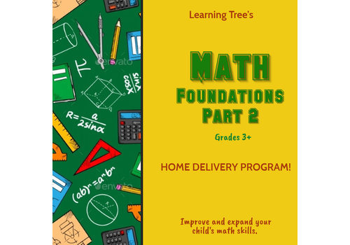 Math Foundations Part 2 Spring  HOME DELIVERY