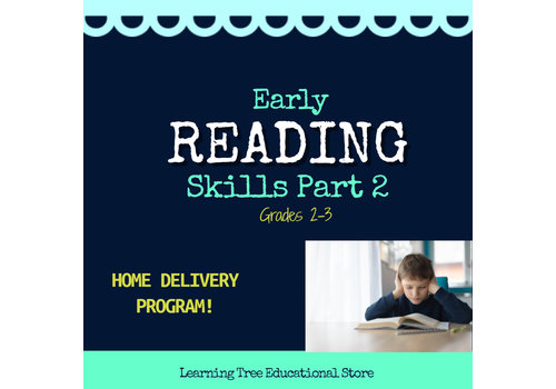 Early Reading Skills  - Part 2 Spring HOME DELIVERY PROGRAM