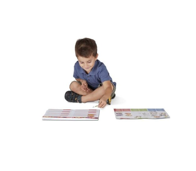 First Words Jumbo Sticker and Activity Pad