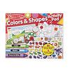 Melissa & Doug Colors & Shapes  Jumbo Sticker and Activity Pad