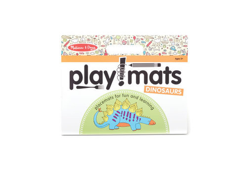 Melissa & Doug Playmats - Dinosaurs