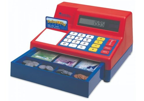 Learning Resources Pretend & Play Teaching Cash Register with Canadian Currency
