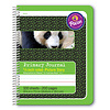 """PACON Primary Journal, Half Rule 5/8"""" GREEN, coil bound"""