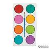 8-Color Tempera Paint Cakes Tropical Colours*