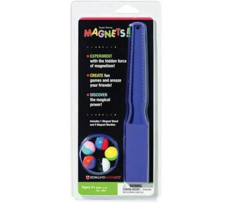 Magnet Wand & Magnetic Marbles