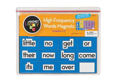 dowling magnets High-Frequency Word Magnets (Grades 1-2), Set of 60