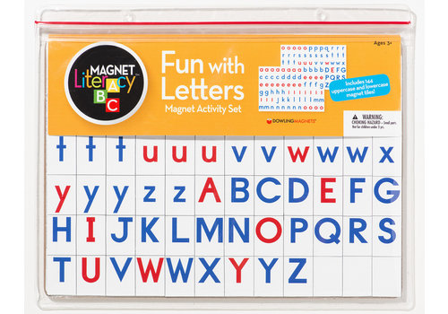 dowling magnets Fun with Letters Magnet Activity Set and Board