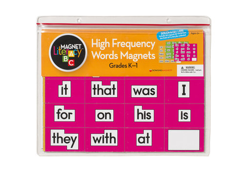 dowling magnets High-Frequency Words Magnets (Grades K-1), Set of 60