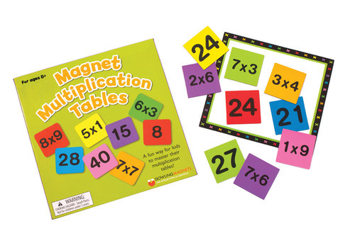 dowling magnets Magnetic Multiplication Tables *