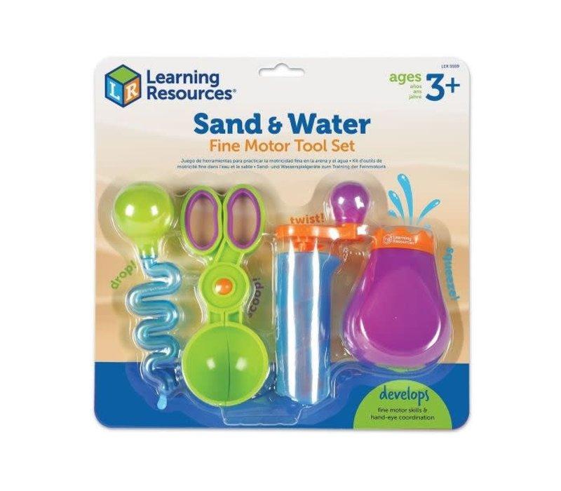 Sand & Water Fine Motor Tool Set