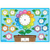 ASHLEY PRODUCTIONS Learning Mat Telling Time, Double-sided