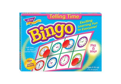 Trend Enterprises Telling Time Bingo