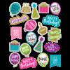 Teacher Created Resources Confetti Happy Birthday Stickers