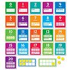 Scholatic USA 0-20 Numbers Set - Scholastic