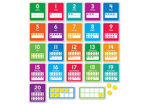 Scholatic USA 0-20 Numbers Set - Scholastic