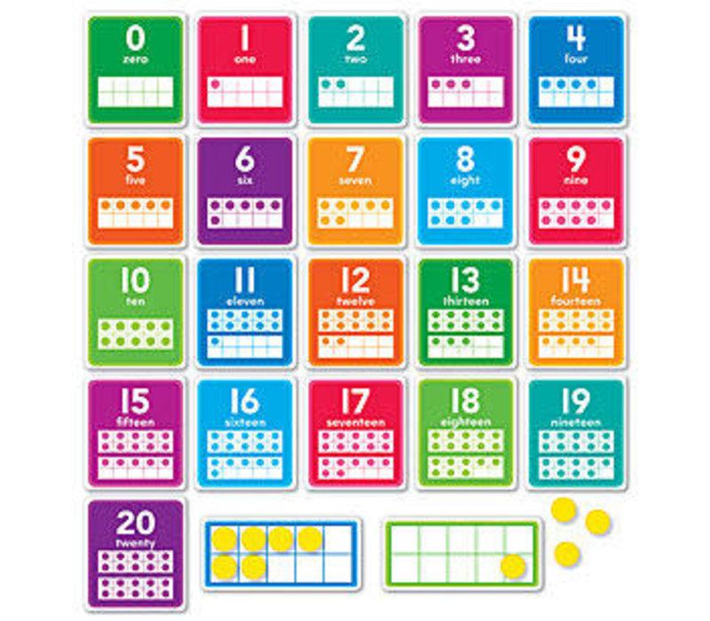 0-20 Numbers Set - Scholastic