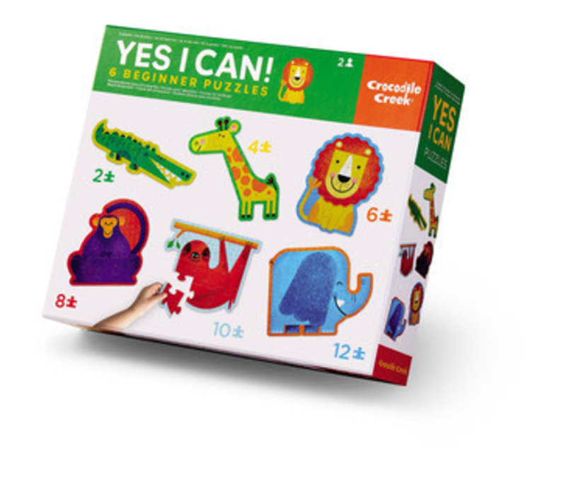 Yes! I Can! Puzzles - Jungle 2-12 Pieces