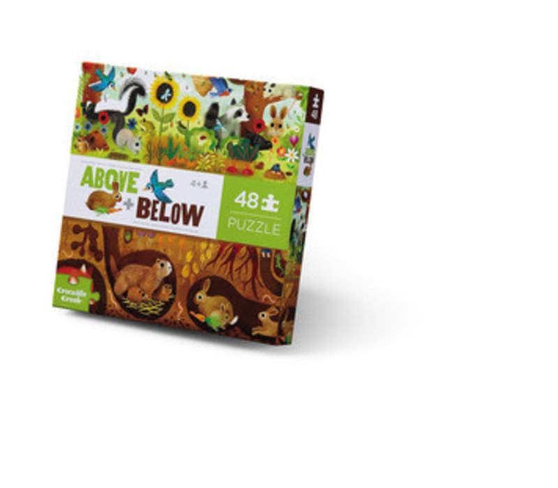 Above + Below 48 Piece Puzzle - Backyard Discovery