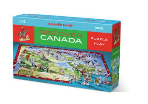 Crocodile Creek Discover Puzzle/Canada NEW!